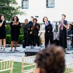 Wedding music by the Booker T. Washington Jazz Choir